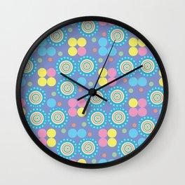 Peaceful Pastels Wall Clock