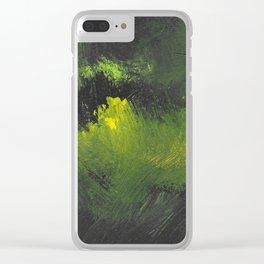 Dark meadows Clear iPhone Case