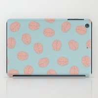 brain iPad Cases featuring Brain  by Minimum