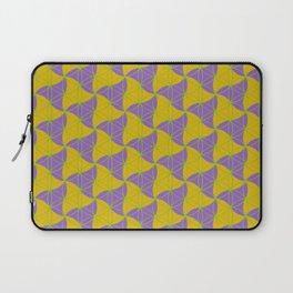 Trinity Pattern Yellow Purple Laptop Sleeve