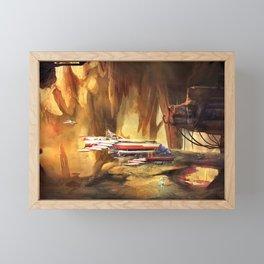 Abandoned Mining Facility Framed Mini Art Print