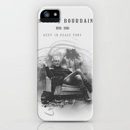 Anthony Bourdain RIP iPhone Case