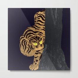 Night tiger Metal Print