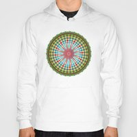 health Hoodies featuring Health Mandala - מנדלה בריאות by dotan yiloz