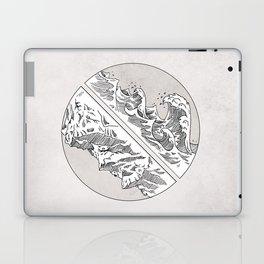 Mountains // Waves Laptop & iPad Skin