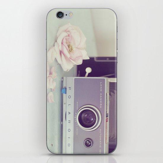 Polaroid, I Love You iPhone & iPod Skin