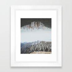 Between Earth & City II Framed Art Print
