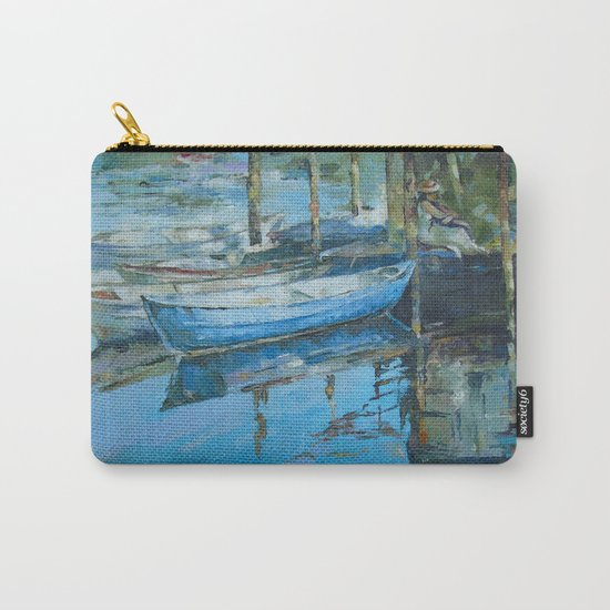 The girl at the pier Carry-All Pouch