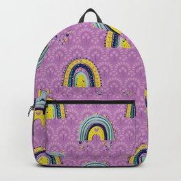 Rainbows on Lavender Backpack