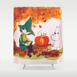 The Autumn Tea Shower Curtain