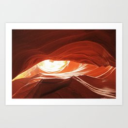 Dragon's Eye Art Print