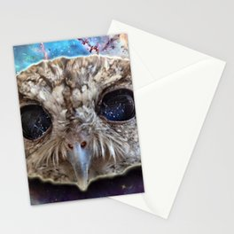 Cosmic Owl Stationery Cards