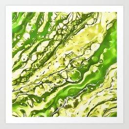 Drowning Here Art Print