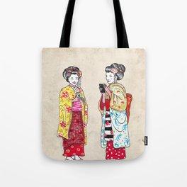 Geishas Tote Bag