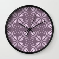 calligraphy Wall Clocks featuring Calligraphy by David Zydd