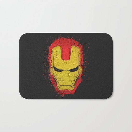 Iron Man splash Bath Mat