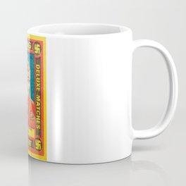 Old Matchbox label #9 Coffee Mug