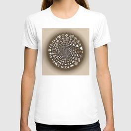 Coffee Lovers Mandala T-shirt