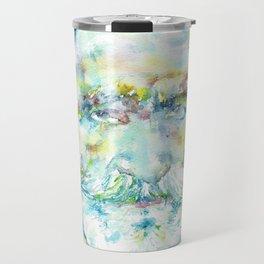 GIUSEPPE VERDI - watercolor portrait Travel Mug