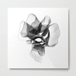 Black bow 3 Metal Print