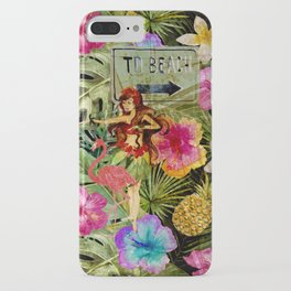Tropical Vintage Exotic Jungle Beach Party iPhone Case