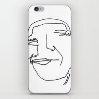 obama iPhone & iPod Skins featuring obama by DEAD FROM THE NECK UP