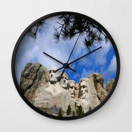 Mount Rushmore Wall Clock