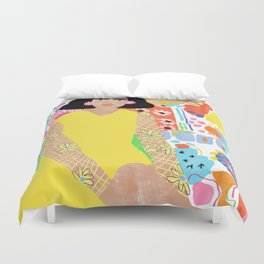 All Over The Place Duvet Cover