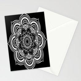 Mandala Black & White Stationery Cards