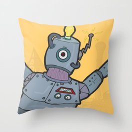 ROBO CRAY Throw Pillow