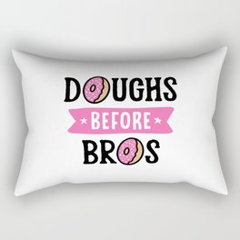Doughs Before Bros Rectangular Pillow
