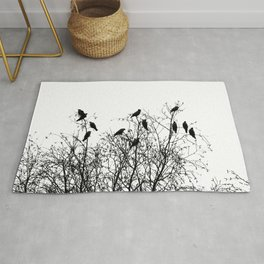 Twelve birds Rug
