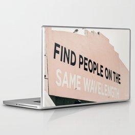 Find People on the Same Wavelength Laptop & iPad Skin