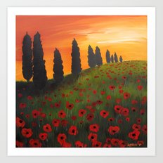 My Dear Tuscany Art Print
