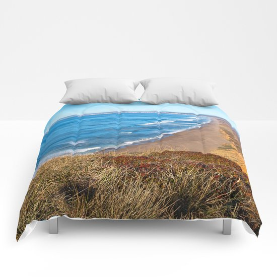 Point Reyes Coastal Scenery Comforters