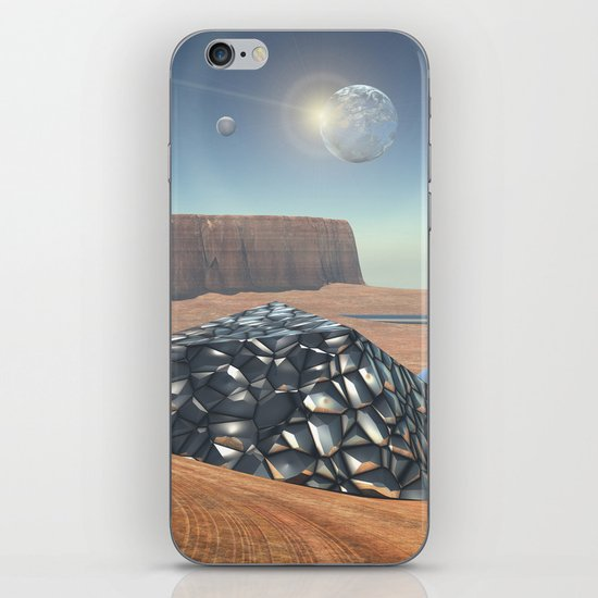 Mars Babylon Colony, view of Armageddon  iPhone & iPod Skin