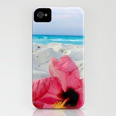 Hibiscus  iPhone (4, 4s) Slim Case