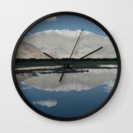 A Mountain In Ladakh Wall Clock