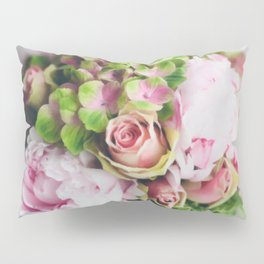 Say it with flowers - Roses, Peonies & other loveliness Pillow Sham