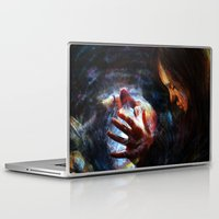 x men Laptop & iPad Skins featuring X men by Luca Leona
