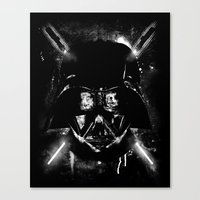 sith Canvas Prints featuring Sith Lord by Li.Ro.Vi
