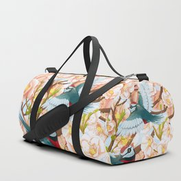 The seasons | Spring birds Duffle Bag