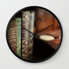 The Writing Desk - Ver 2 - 8x10 Wall Clock