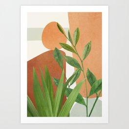 Nature Geometry X Art Print