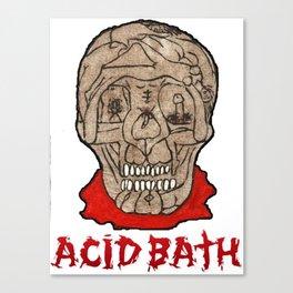 Acid Bath Clown Canvas Print