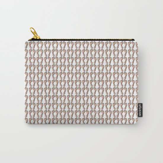 Feet Pattern Carry-All Pouch