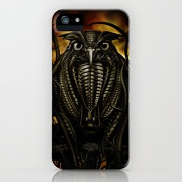 Mechanical Owl iPhone Case