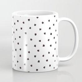 Black Cats Polka Dot Coffee Mug