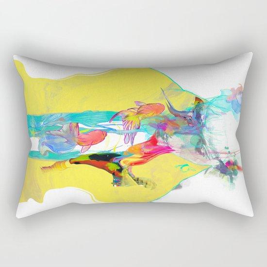 Whispering Rectangular Pillow