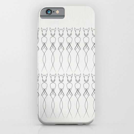 One line nude iPhone & iPod Case